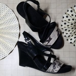 Aerosoles Strappy Wedge Sandals size 8.5